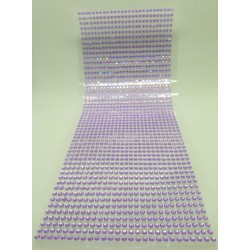 Samolepící perličky fialové 1404 ks, 3 mm