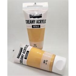 Akrylová barva metalická zlatá 60 ml Pentart