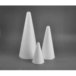 Polystyrenový kužel malý 12 cm