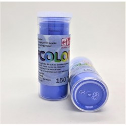 Smaltovací prášek průhledný modrý Efco 10 ml