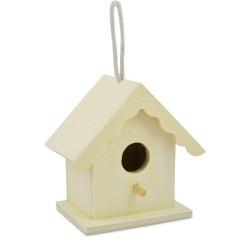 Domeček dřevěný, ptačí budka. Meyco