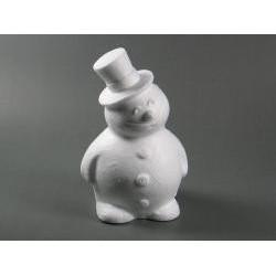 Polystyrenový sněhulák 16,5 cm