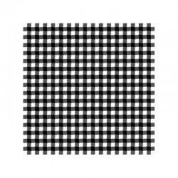 Ubrousek černobílá kostička
