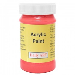 Akrylová barva  amarant  100 ml, DailyART