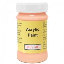 Akrylová barva meruňková 100 ml, DailyART