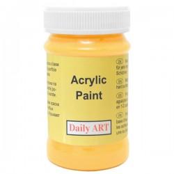 Akrylová barva šafránová 100 ml, DailyART
