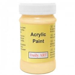 Akrylová barva tmavá béžová  100 ml, DailyART