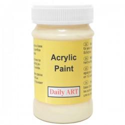 Akrylová barva krémová 100 ml, DailyART