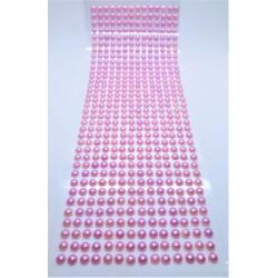 Samolepící perličky starorůžové 504 kusů 0,5 cm