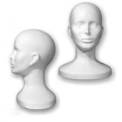 Polystyrenová hlava 33 cm