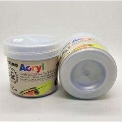 Akrylová barva stříbrná 60g