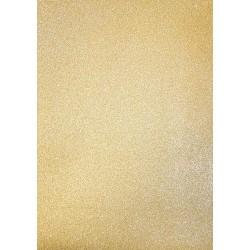 Třpytivý zlatý samolepící papír A4