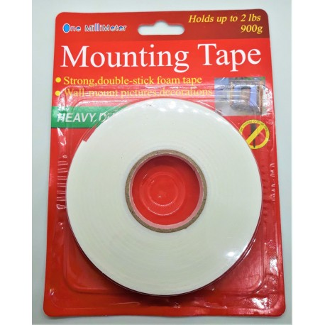 Lepící oboustranná pěnová páska 2 cm x 2 m