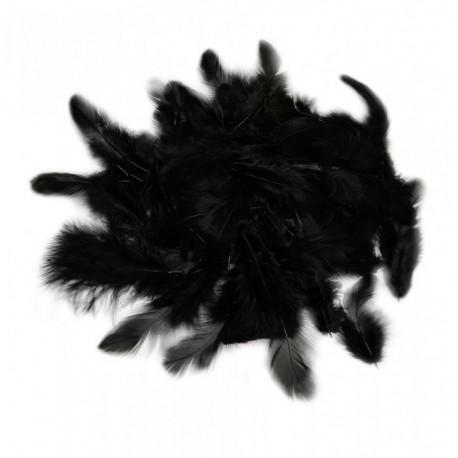 Peří černé 10 g