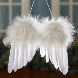 Andělská křídla na zavěšení šířka 17 cm