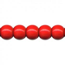 Dřevěné korálky 6 mm 120 ks