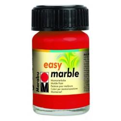 Mramorovací barva červená třešňová 15 ml Marabu