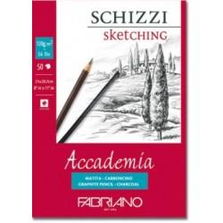 Skicák Accademia 120g/m² 50 listů Fabriano A5