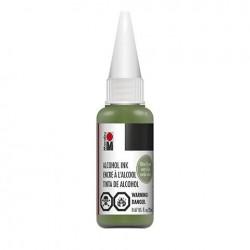 Alkoholový inkoust Zelená olivová 20 ml Marabu