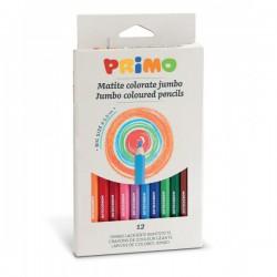 Pastelky Jumbo sada 12 kusů Primo