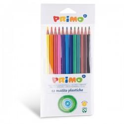 Pastelky plastové 12 kusů Primo