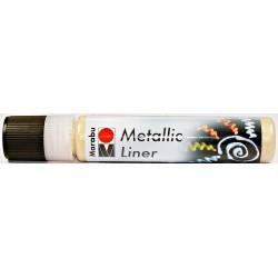 Metalický liner růžový 25 ml Marabu