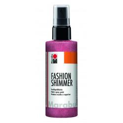 Sprej na textil Fashion Shimmer růžový perleťový 100 ml Marabu