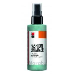 Sprej na textil Fashion Shimmer zelený akvamarínový perleťový 100 ml Marabu