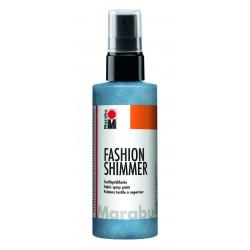 Sprej na textil Fashion Shimmer modrý perleťový 100 ml Marabu