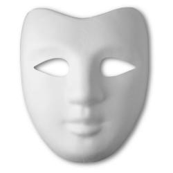 Maska obličejová papiermaché Venedig Benátský kníže průměr 19 cm Meyco