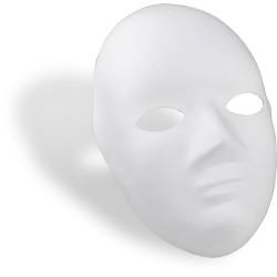 Maska obličejová papiermaché průměr 18cm Meyco