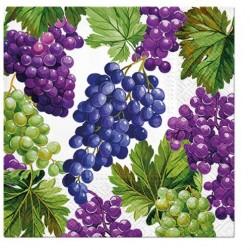 Ubrousek Hroznové víno 33x33 cm