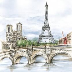 Ubrousek, Eiffelovka nad mostem