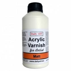 Lak matný akrylový 500 ml Daily ART