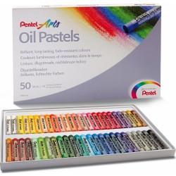 Pastely umělecké olejové sada 50 kusů Pentel