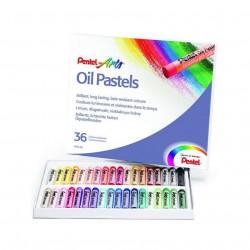 Pastely umělecké olejové sada 36 kusů Pentel