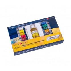 Barvy umělecké olejové 12 x 18 ml sada dárkové balení