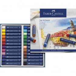 Pastely umělecké olejové sada 24 kusů Faber Castell