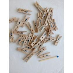 Dřevěný kolíček, délka 2,5 cm