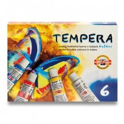 Tempery sada 6 x 16ml KOH-I-NOOR