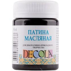 Olejová patina černá,  Decola, 50 ml