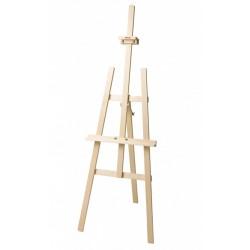 Malířský stojan ateliérový typu A z masivního smrkového dřeva
