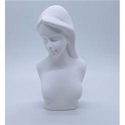 Sádrový odlitek hlava Angel 8,5 x 4,5 cm