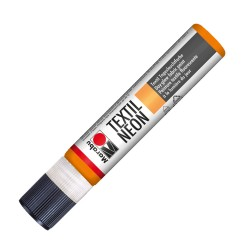 Liner Textil Neon oranžový 25 ml Marabu