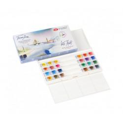 Sada akvarelových barev 24 ks White Nights Nevskaya Palitra