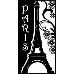 Šablona Romantická Paříž 28x15 cm Marabu