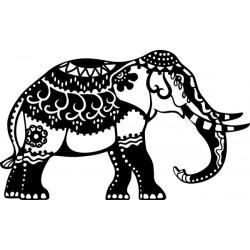 Šablona Africký slon 17x28 cm Marabu