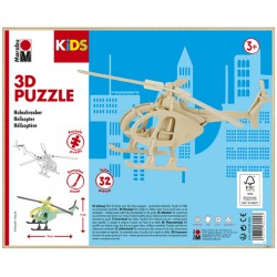 3D Puzzle Helikoptéra 26x13 cm Marabu