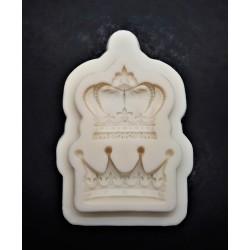 Silikonová forma Královské koruny 9x6x1 cm