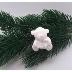 Medvídek dekorační 3x2,5x1cm